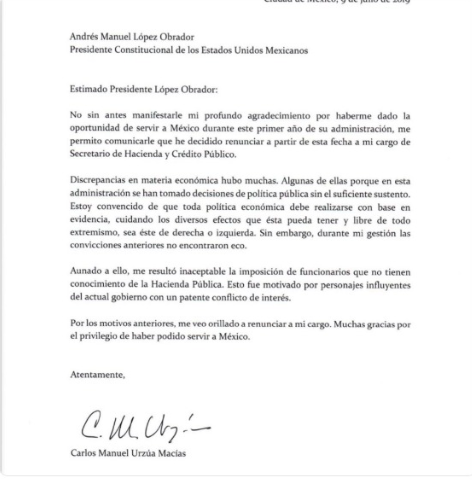 Carta Urzúa